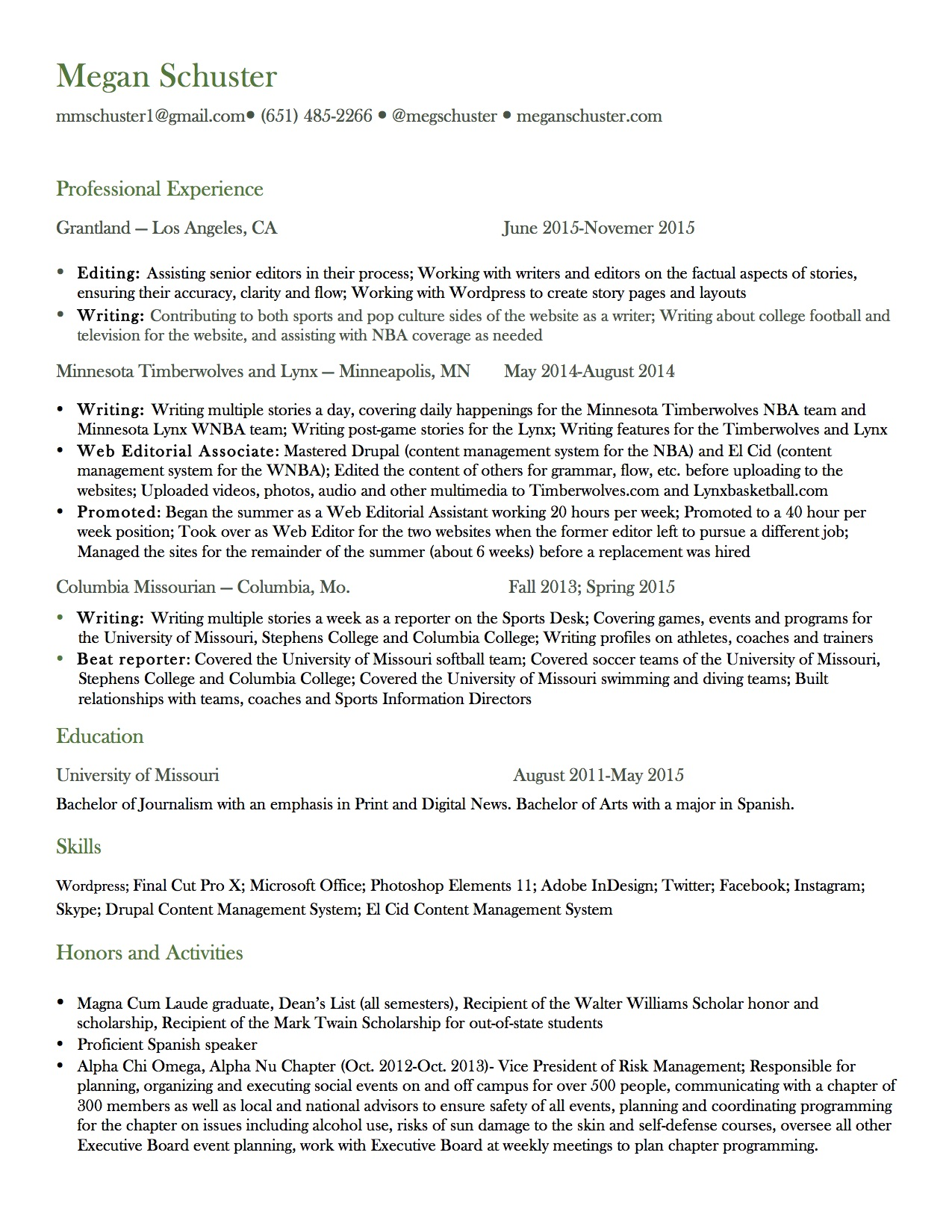 Good Looking Writer Resume Most Resume Job
